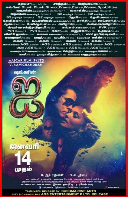Ai I Movie release date and no of screens
